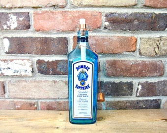 Bombay Blue Sapphire Gin Table Top Tiki Torch