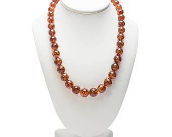 Natural baltic amber, genuine amber, amber beads, amber necklace, Bernstein Halskette, 琥珀珠子, ambra