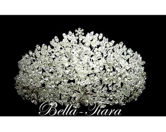royal crystal wedding tiara, Swarovski crystal crown, bridal crystal tiara, wedding tiara, crystal crown tiara, crystal crown, bridal crown