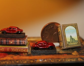 Dollhouse miniature bookends