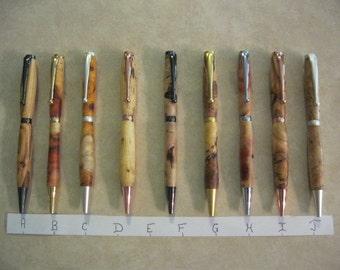Burl Wood Pens