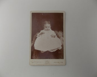 Victorian baby portrait, baby girl portrait, 1900s baby photo, antique baby photo, child portrait, Edwardian baby portrait, girl portrait