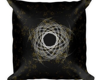 Universe Galaxy I Fractal Art Pillow