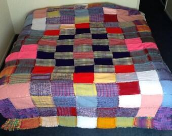 Hand weaved blanket