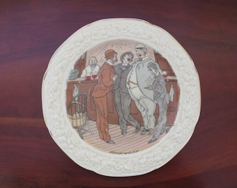 Crown Ducal Florentine Plates, A Short Sport, Harmony