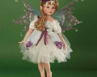 "Titania 24"" Porcelain Standing Fairy"