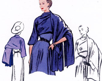 Stole Pattern 1950  Decades of Style Vintage Style Sewing Pattern