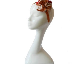 Copper Ruffle Headband
