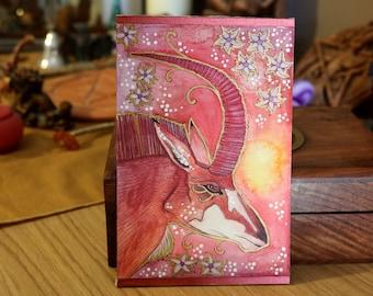 Rose Series - Sable Antelope Magic - Original Art