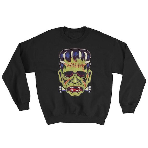 Frankenstein Mask Sweatshirt