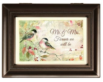 "Music Box - ""Mr. & Mrs. Forever We Will Be"" (Large)"