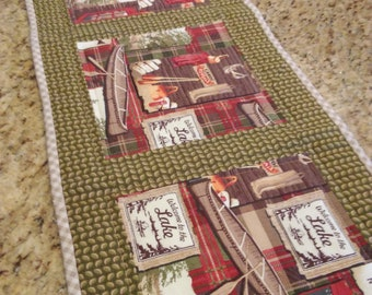 Welcome to the Lake Table Runner