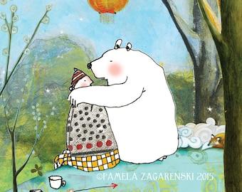 Card 130 Bear Love Hug