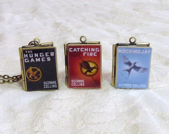 The Hunger Games Story Locket