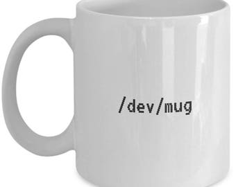 Unix Computer Programmer mug - funny holiday birthday gag gift for IT pros geeks