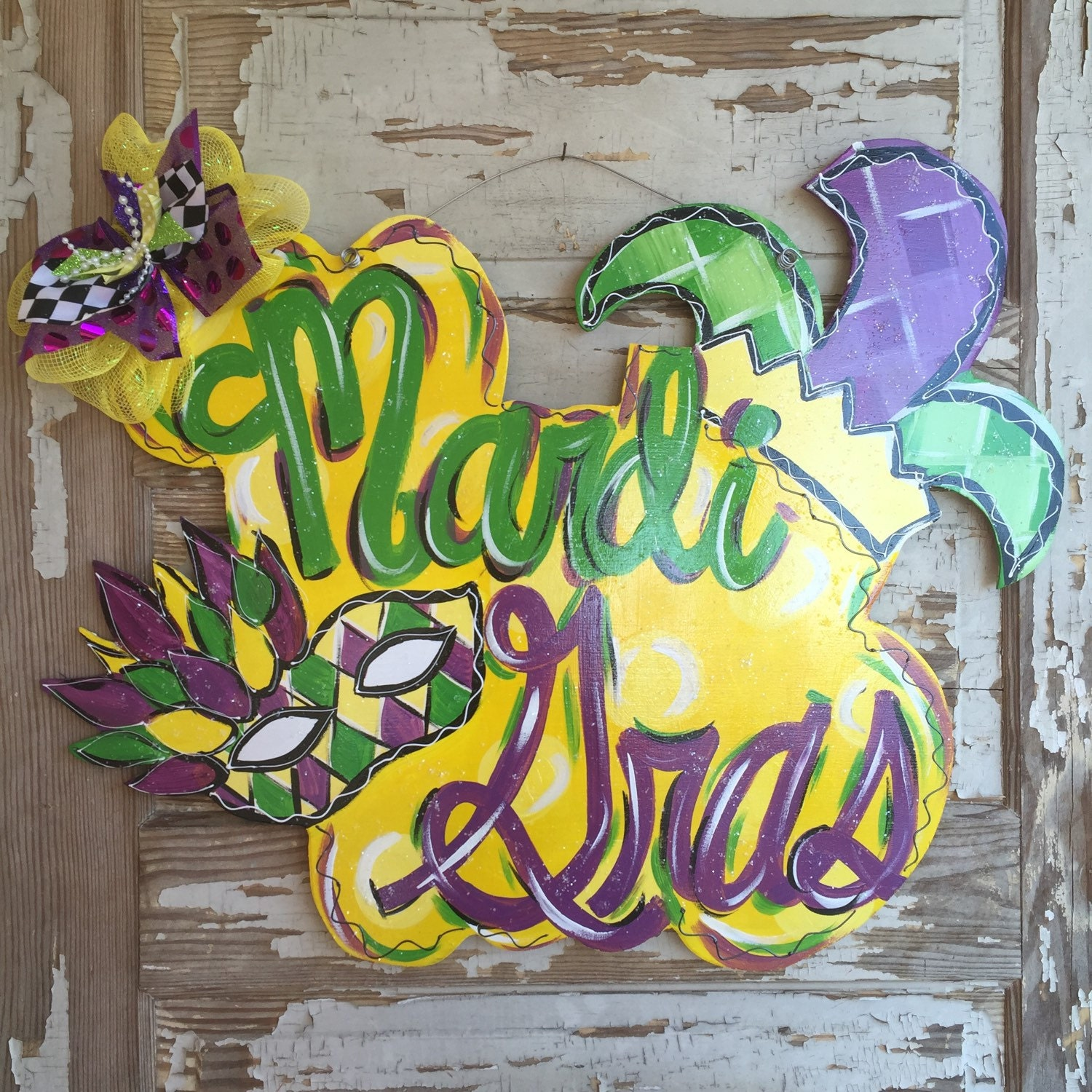Attractive Mardi Gras Wall Decorations Festooning - All About ...