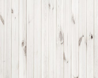 Bleached White Wood-  Vinyl Photography  Backdrop Photo Prop