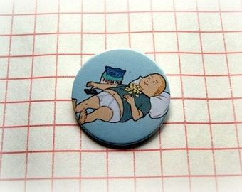 King of the hill - Bobby - button badge or magnet 1.5 Inch
