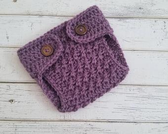 Crochet Diaper Cover, Crochet Button Diaper Cover, Crocheted Newborn Diaper Cover, Baby Boy Diaper Cover, Baby Diaper Cover, MADE 2 ORDER