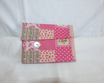 Pouch pattern patchwork liberty style