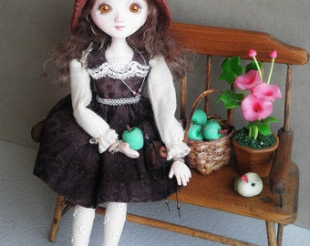 RESERVED/SOLD ~Myla ~ OOAK Art Doll