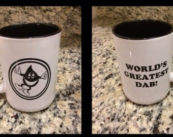 Worlds greatest dab mug