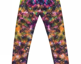 Medium Tie Dye Fairy Mud Leggings