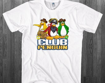 Puffles penguins T-shirt Club Penguin Youth Adult toddler size Tee Shirts