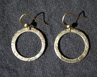 Beautiful Bohemian Brass Earrings