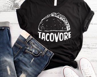 Tacovore T-Shirt Taco Tuesday Shirt  Workout Shirt Funny Gym Shirt Taco Tuesday Shirt Taco Gym Shirt Feed Me Tacos Shirt