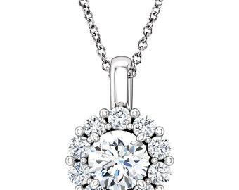 CTW Diamond 16-18 Inch Necklace