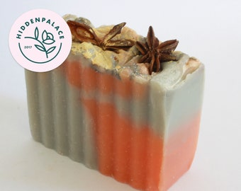 Cinnamon | Cold Process Soap Bar