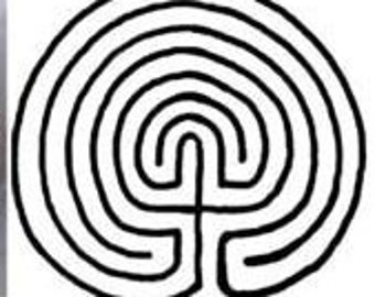 tintagel maze celtic inspired printing stamp