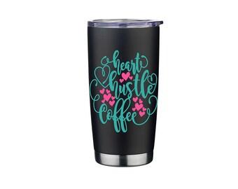 Rambler - Tumblr - Personalized Tumbler - Yeti Like Travel Mug - Personalized Steel Tumbler - Personalized Stainless Steel Cup - 20oz