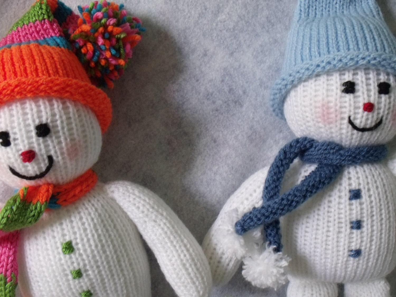 Toy doll knitting pattern. Christmas decoration Knitting Pattern ...