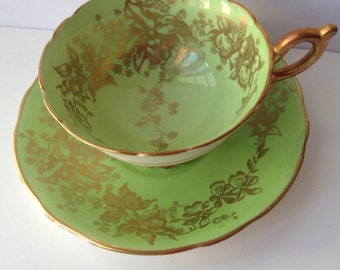 Coalport Cup And Saucer Set Made in England