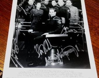 Star Trek signed 8x10 Press Photo