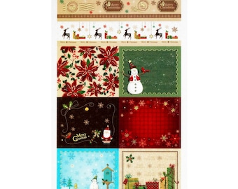 Washi stickers / Christmas stamps