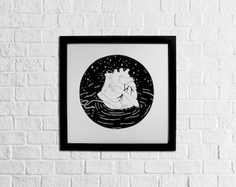 Heart buoy