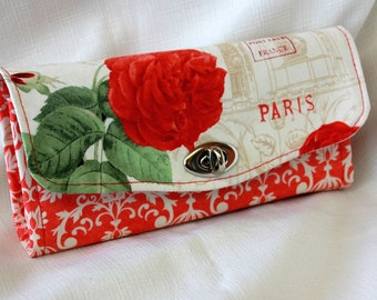 La Vie En Rose Clutch Wallet