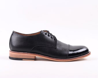 Derby Captoe (Patent Leather)