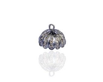 Silver Diamond Tassel ESDC-1157