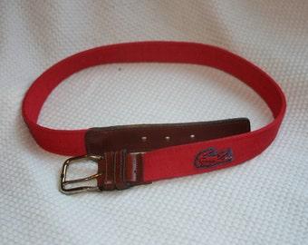 vintage lacoste ladies' belt