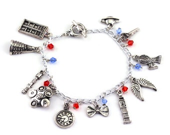 Doctor Who Charm Bracelet - The perfect gift for any Whovian