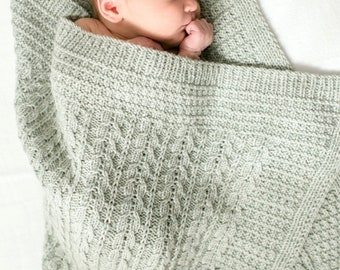 make your own Lee Blanket  (DIGITAL KNITTING PATTERN)