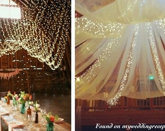 32.8 Ft 100 LED Fairy String Light Warm White| Christmas , Halloween,  Wedding,