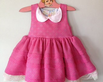 Poppy's Tea Party Dress with Petticoat