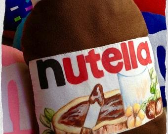 Pillow shaped Nutella 45 x 30 cm handmade