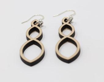 Three Ovals Earrings