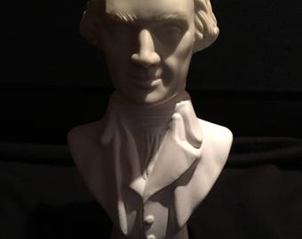 Avon President Thomas Jefferson Bust Wild Country aftershave